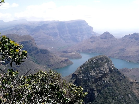 Stunning view over a gorge in Limpopo Province