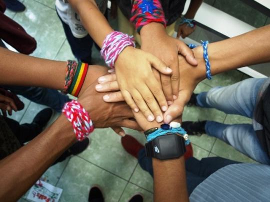 Volunteers in Brazil