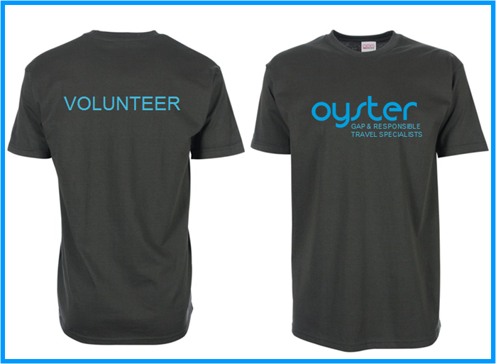 Oyster Volunteer T-shirt