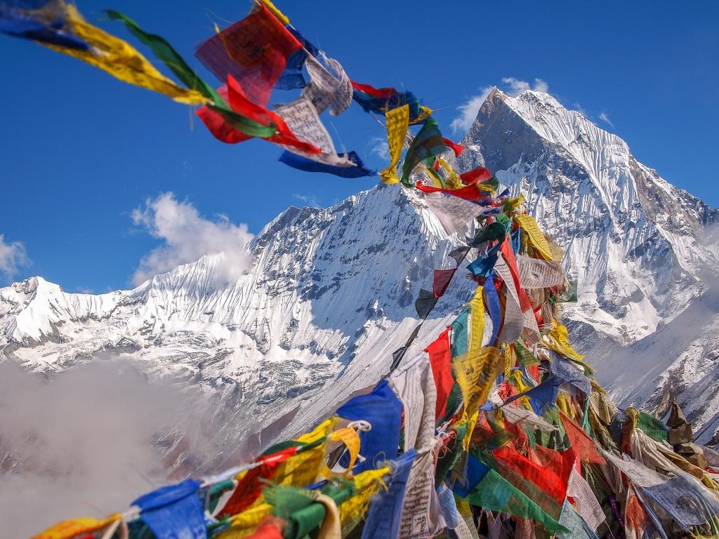 Nepal Pray Flag