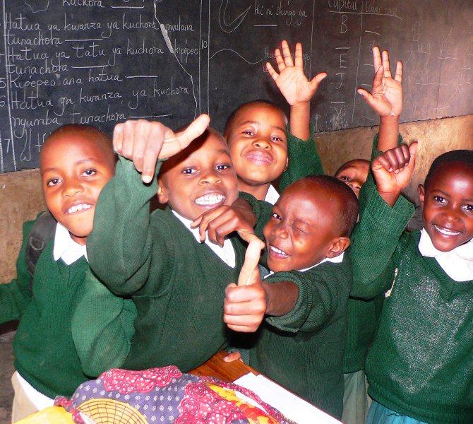 Volunteer teaching in South Africa